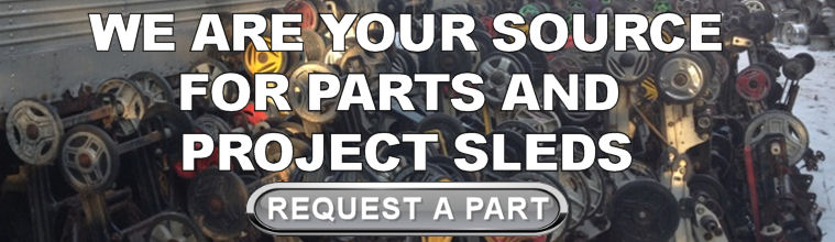 Your Source for Snowmobile Parts and Project Sleds